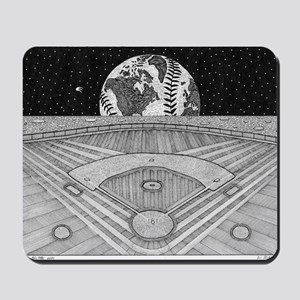 Ballpark Moon Mousepad