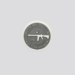 American Gun Enthusiast Mini Button