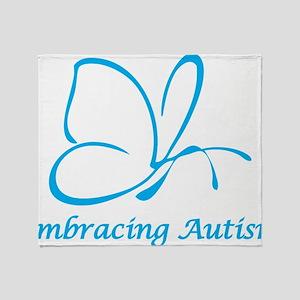 Embracing Autism Throw Blanket