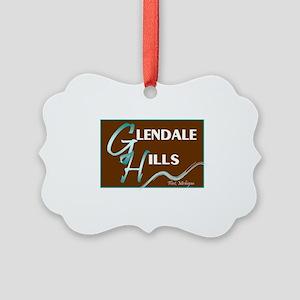 glendale hills - 2 Picture Ornament