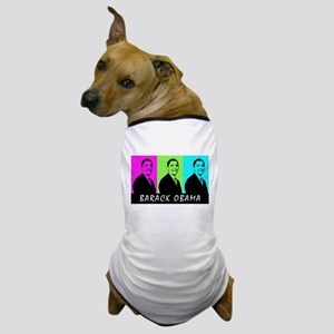 Obama Pop Art Dog T-Shirt