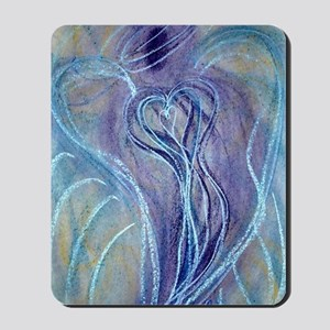Spiritual Transformation Angel Card Mousepad