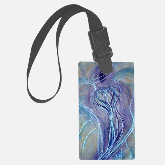Spiritual Transformation Angel C Luggage Tag