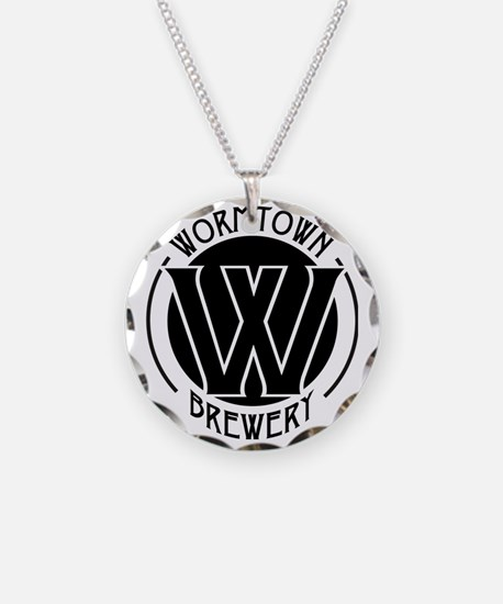 Wormtown_BW_Logo Necklace