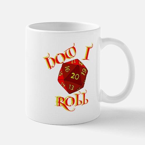 how i roll 20d Mug