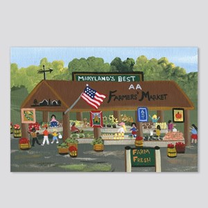Farmers Market Postcards (Package of 8)