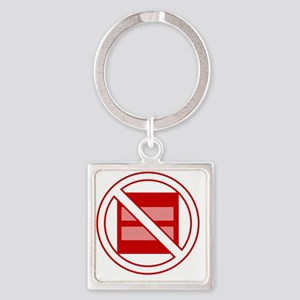 Marriage Pro-Inequality Square Keychain