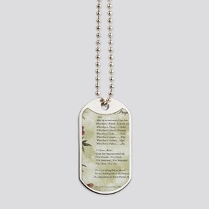 Pope Francis St. Francis SIMPLE PRAYER-Ba Dog Tags