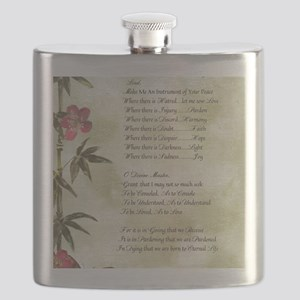 Pope Francis St. Francis SIMPLE PRAYER-Bambo Flask