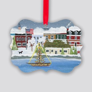 Annapolis Christmas Picture Ornament