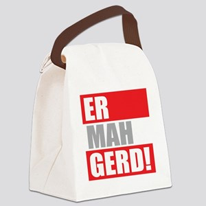 ER MAH GERD! Canvas Lunch Bag