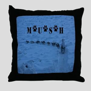 MUSH Messenger Bag Throw Pillow