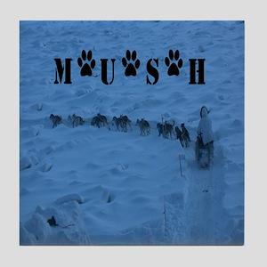 MUSH Messenger Bag Tile Coaster
