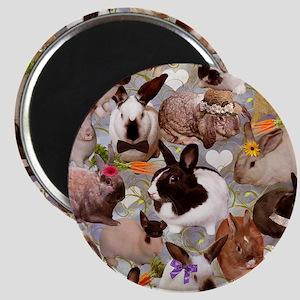 Happy Bunnies Magnet