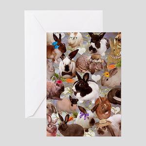 Happy Bunnies Greeting Card