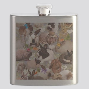 Happy Bunnies Flask