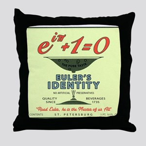Euler's Identity : The Pure Taste Throw Pillow