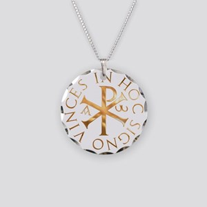 kiro005a Necklace Circle Charm