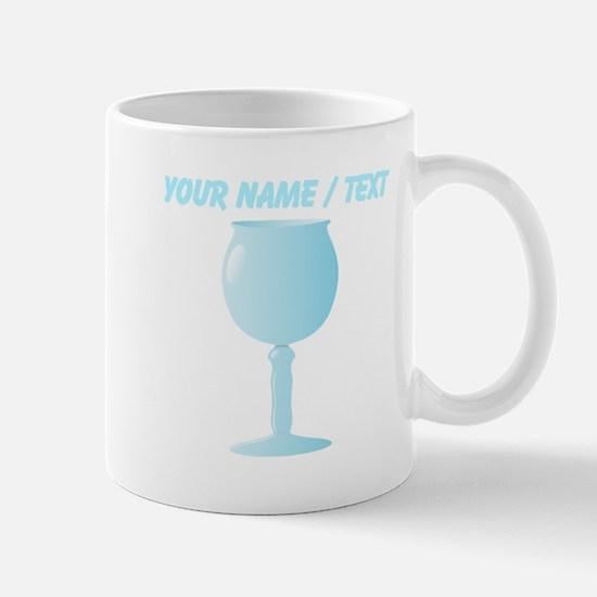 Custom Wine Glass Mugs