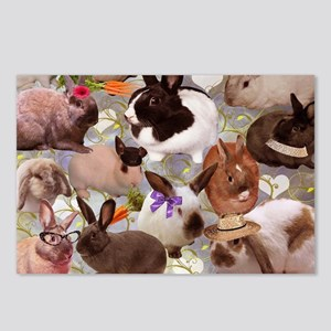 Happy Bunnies Postcards (Package of 8)