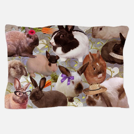 Happy Bunnies Pillow Case