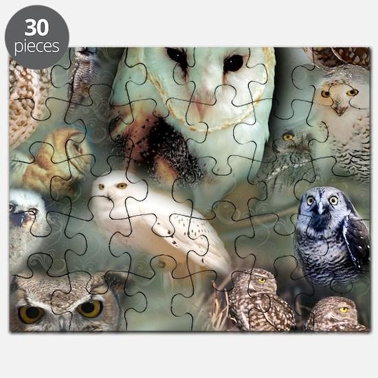 Happy Owls Puzzle