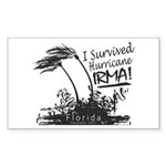 I Survived Hurricane Irma Sticker