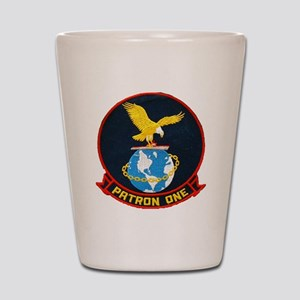 vp-1 patch Shot Glass