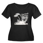 I Survived Hurricane Irma Plus Size T-Shirt