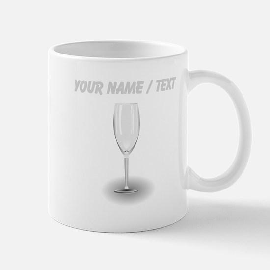 Custom Clear Wine Glass Mugs