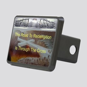 The Road To Redemption Rectangular Hitch Cover