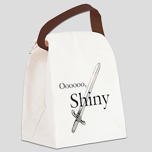 Oooo, Shiny Canvas Lunch Bag