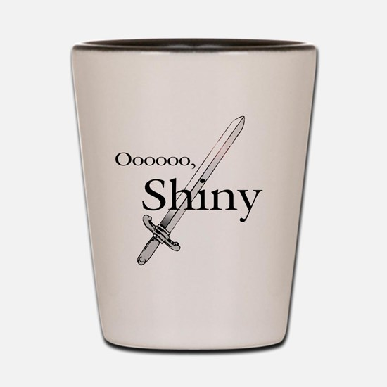 Oooo, Shiny Shot Glass