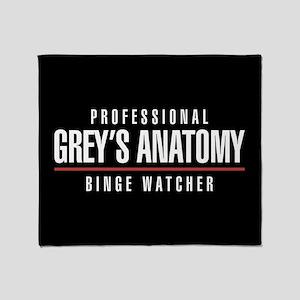 Professional Grey's Anatomy Binge Wa Throw Blanket