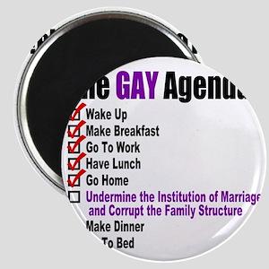 Gay Agenda Marriage Magnet