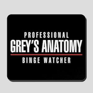 Professional Grey's Anatomy Binge Watche Mousepad