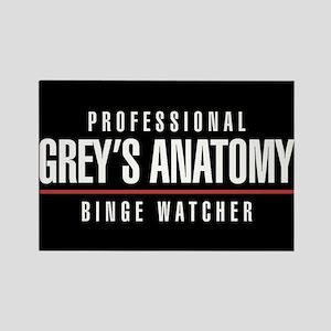 Professional Grey's Anatomy Binge Rectangle Magnet