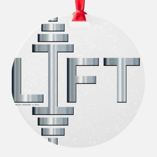 LIFT -- Fit Metal Designs Ornament