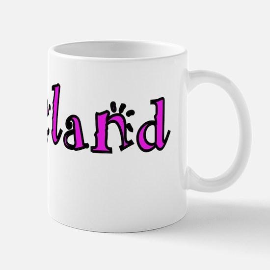 Horseland Logo 3 wide border Mug