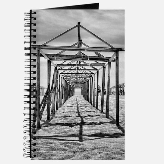 Povoa de Varzim beach in Portugal Journal