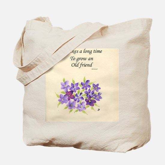 Poetry of an Old Friend Tote Bag