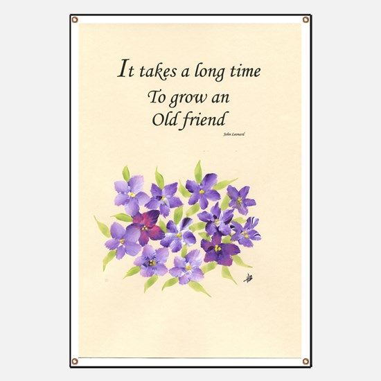 Poetry of an Old Friend Banner