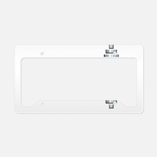 GET FIT -- Fit Metal Designs License Plate Holder