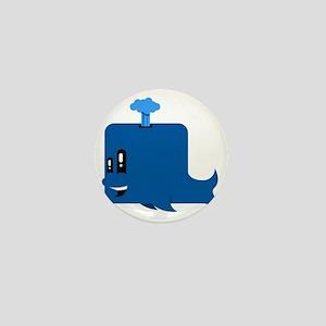 Tubby the Whale Mini Button