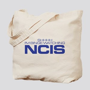 Shhhh I'm Binge Watching NCIS Tote Bag