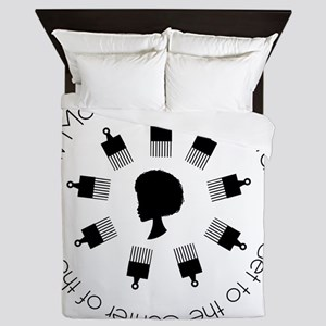 How Many Picks? Tee Queen Duvet