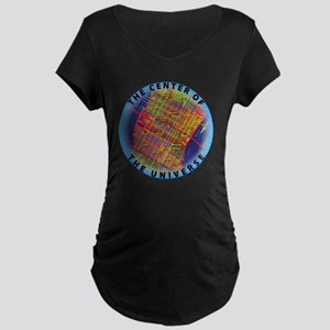 Midtown Manhattan - The Cen Maternity Dark T-Shirt