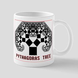 Pythagoras Tree Mug