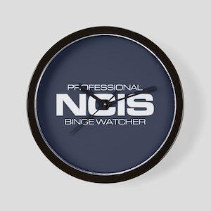 Professional NCIS Binge Watcher Wall Clock