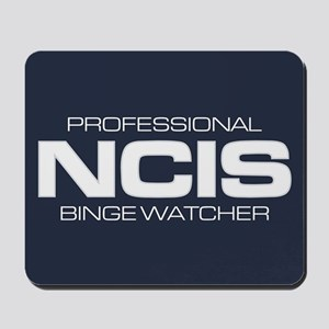 Professional NCIS Binge Watcher Mousepad